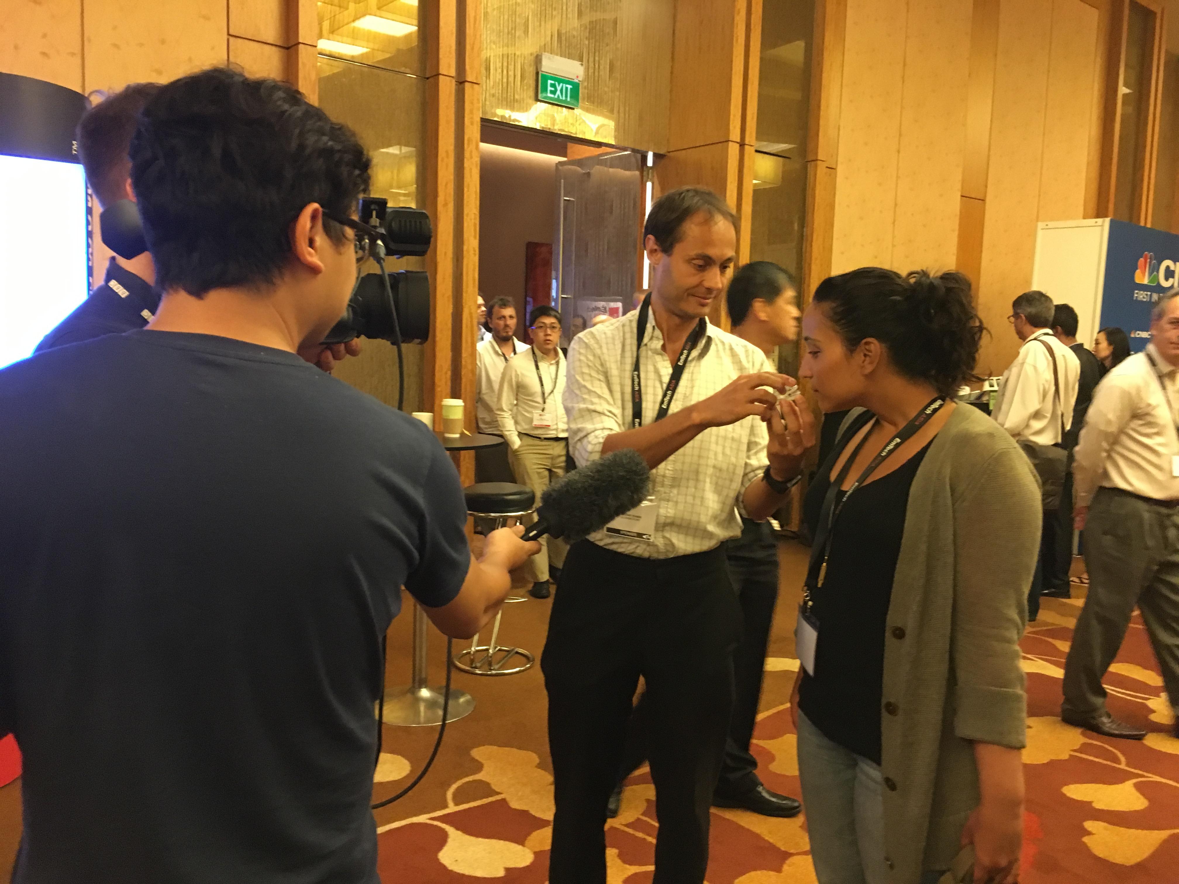 Antony Evans at EmTech Asia
