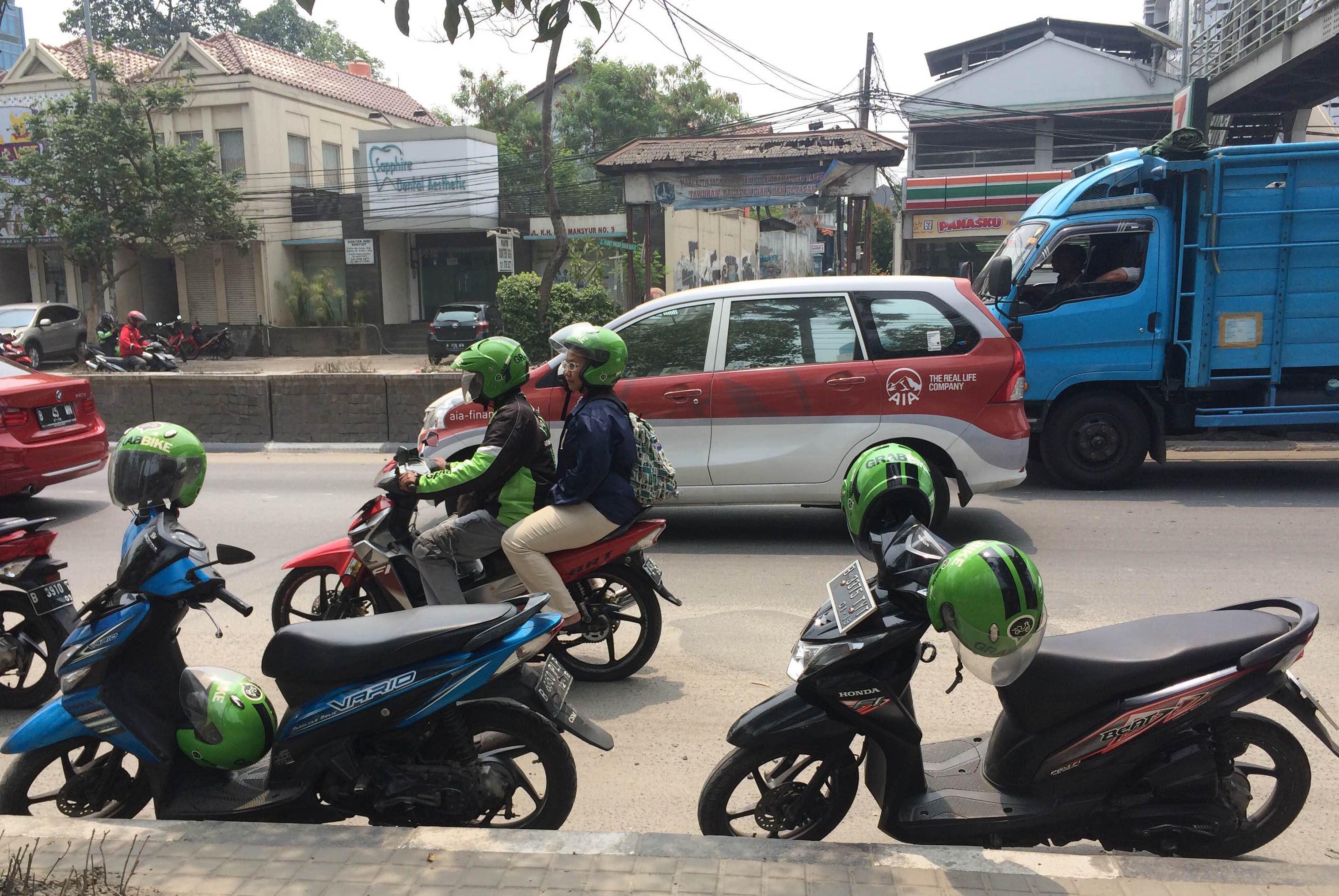 GrabBike in Jakarta